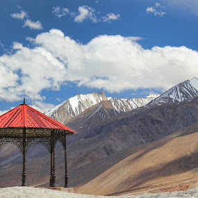 Tpangong lake hills by Mangesh Jadhav - Landscapes Mountains & Hills ( clouds, hills, mountains, tpangong )
