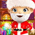 Baby Santa Claus Xmas Voice icon
