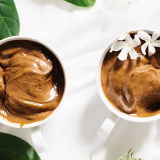 Chocolate Coconut Keto Ice Cream.