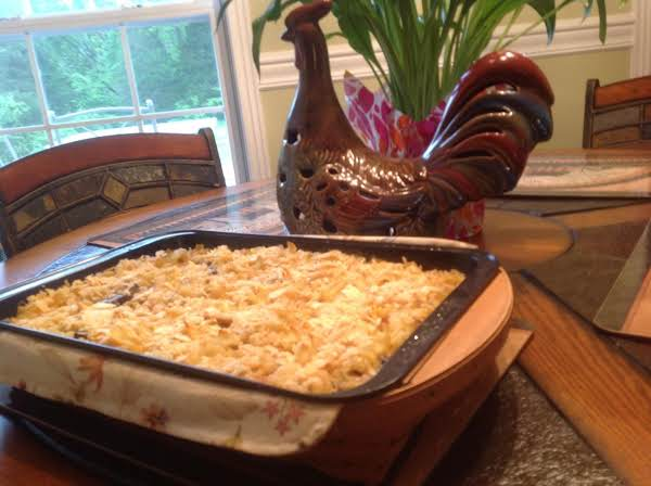 Chicken Stroganoff Casserole Recipe