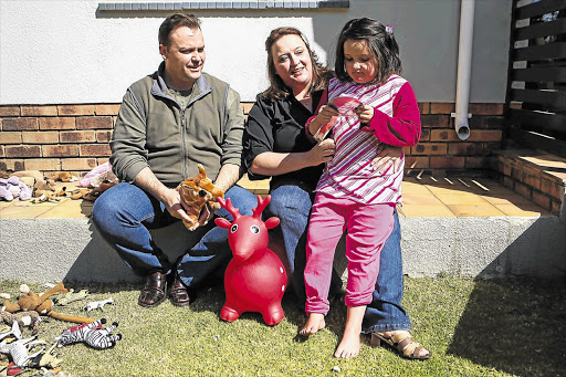 Noel Ross and Ilse Kilian-Ross are converting their Johannesburg home into a school for children with autism after being inspired by their daughter, Madison