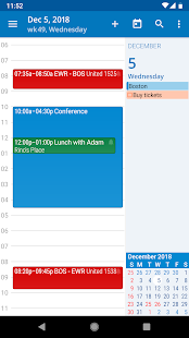 aCalendar - Android Kalender Screenshot