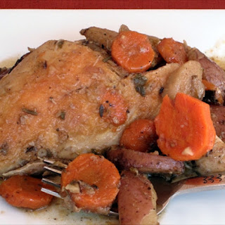Slow Cooker Herb Chicken and Vegetables
