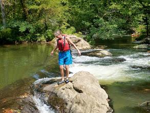 Photo: Me on Eggleston Falls