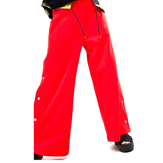 Cheap Monday Snap Tracksuit Pant Red