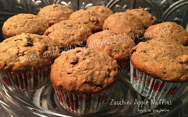 The Best Zucchini Apple Muffins Recipe