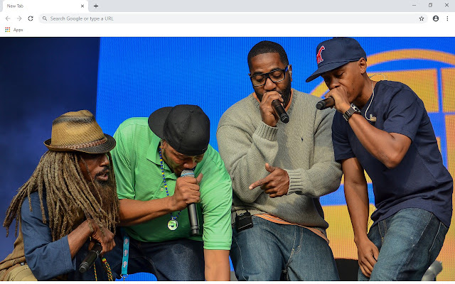 Jurassic 5 New Tab & Wallpapers Collection