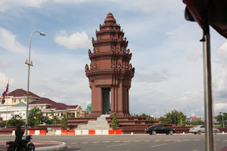 Photo: Year 2 Day 35 - The Independence Monument in Phnom Penh