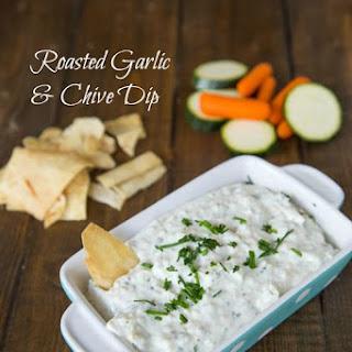 Roasted Garlic & Chive Dip