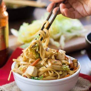 Vegan Shanghai Noodles.