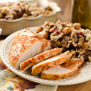 Crock Pot Turkey Breast with Cranberry Sauce