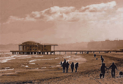 La spiaggia di Senigallia e la Rotonda a Mare - Foto, Paolo Sarti (www.scriptavolant.info)