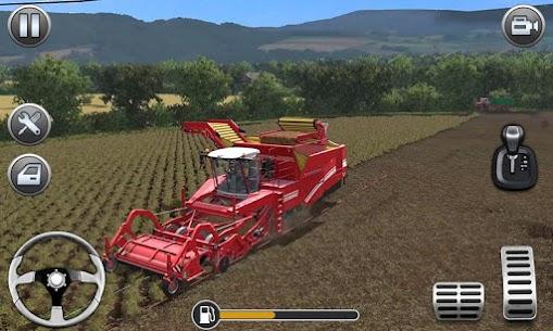 Farming Simulator – Big Tractor Farmer Driving 3D 2