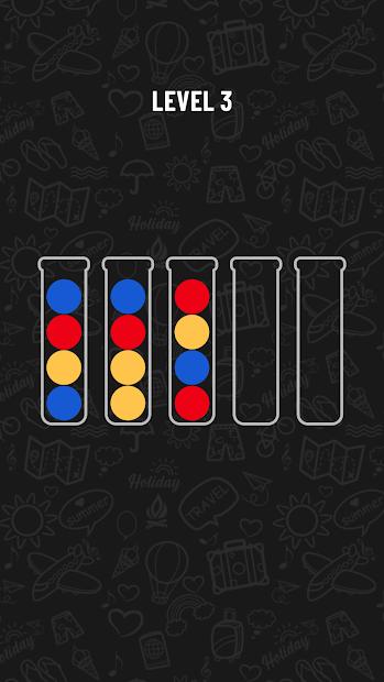 Ball Sort Puzzle Android App Screenshot