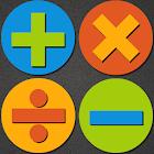 Matemáticas rápidas para niños con mesas icon
