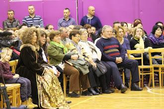 Photo: Grof Jurij Friderik Sauer in grofica Barbara Sauer sta bila gosta tudi na osnovnošolski prireditvi v Zavrču 8.12.15.