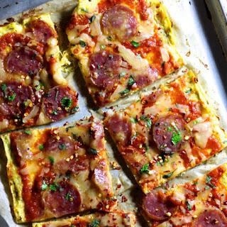 Spaghetti Squash Pizza Crust.