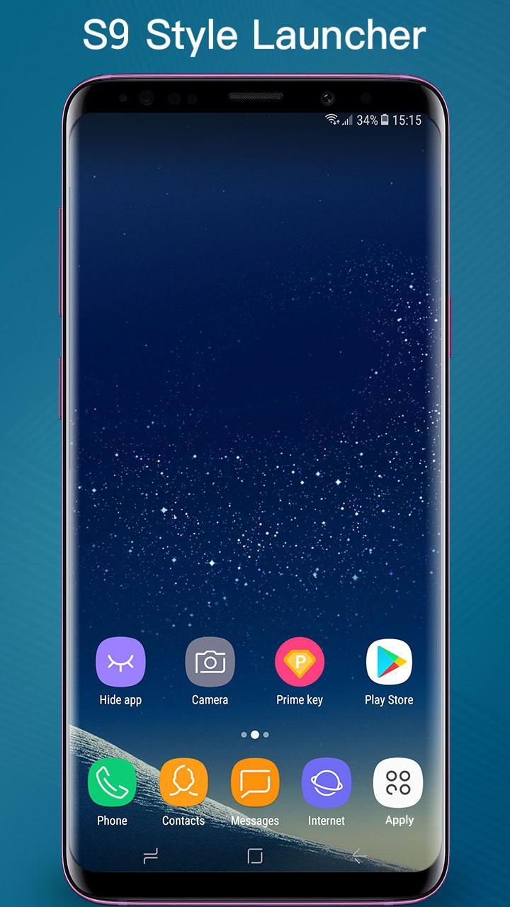 S Launcher - Galaxy S9 Launcher, S9/S8 theme, cool Screenshot 0