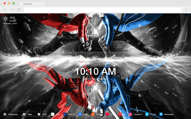 Devil May Cry Popular Games New Tab HD Themes