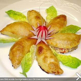 Blätterteig - Krabben - Snack