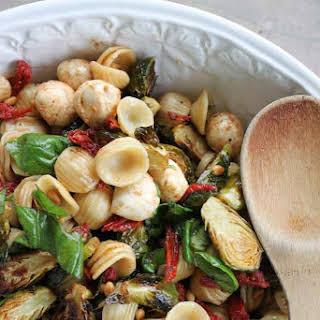 Easy Orecchiette Pasta Salad.