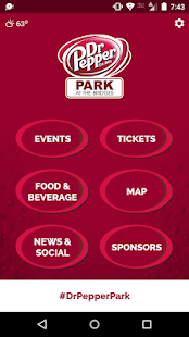 Dr Pepper Park Roanoke Events- screenshot thumbnail