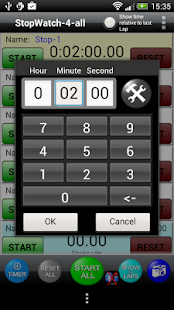 StopWatch 4 all Lite- screenshot thumbnail