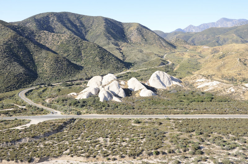 Photo: View of the other Mormon Rocks across hwy 138