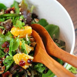Mixed Green Salad With Cranberries Pecans Recipes