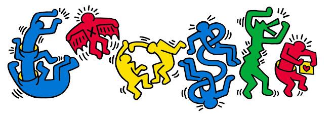 54e anniversaire de la naissance de Keith Haring