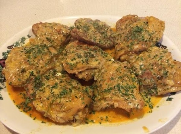 Transfer chicken to serving dish.  Reduce heat to low, whisk sour cream in...