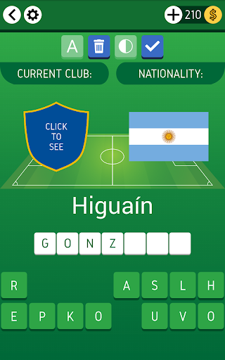 Names of Soccer Stars Quiz  screenshots 10