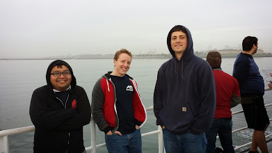 Photo: On the ferry