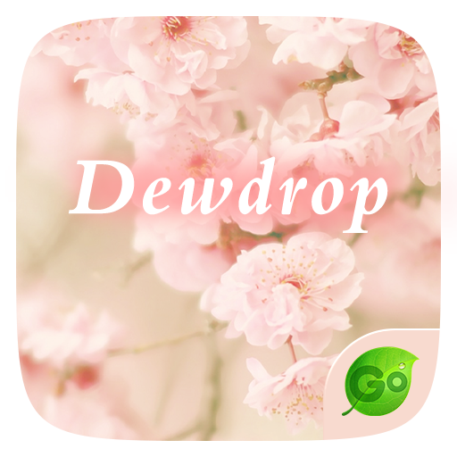 Dewdrop GO Keyboard Theme