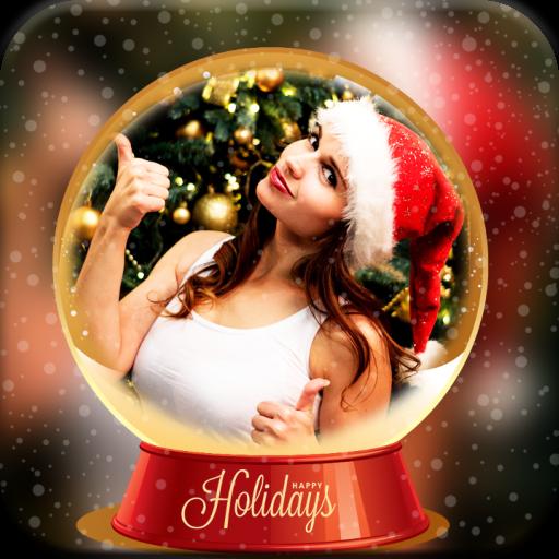 Christmas Card PIP Art Camera Maker Icon