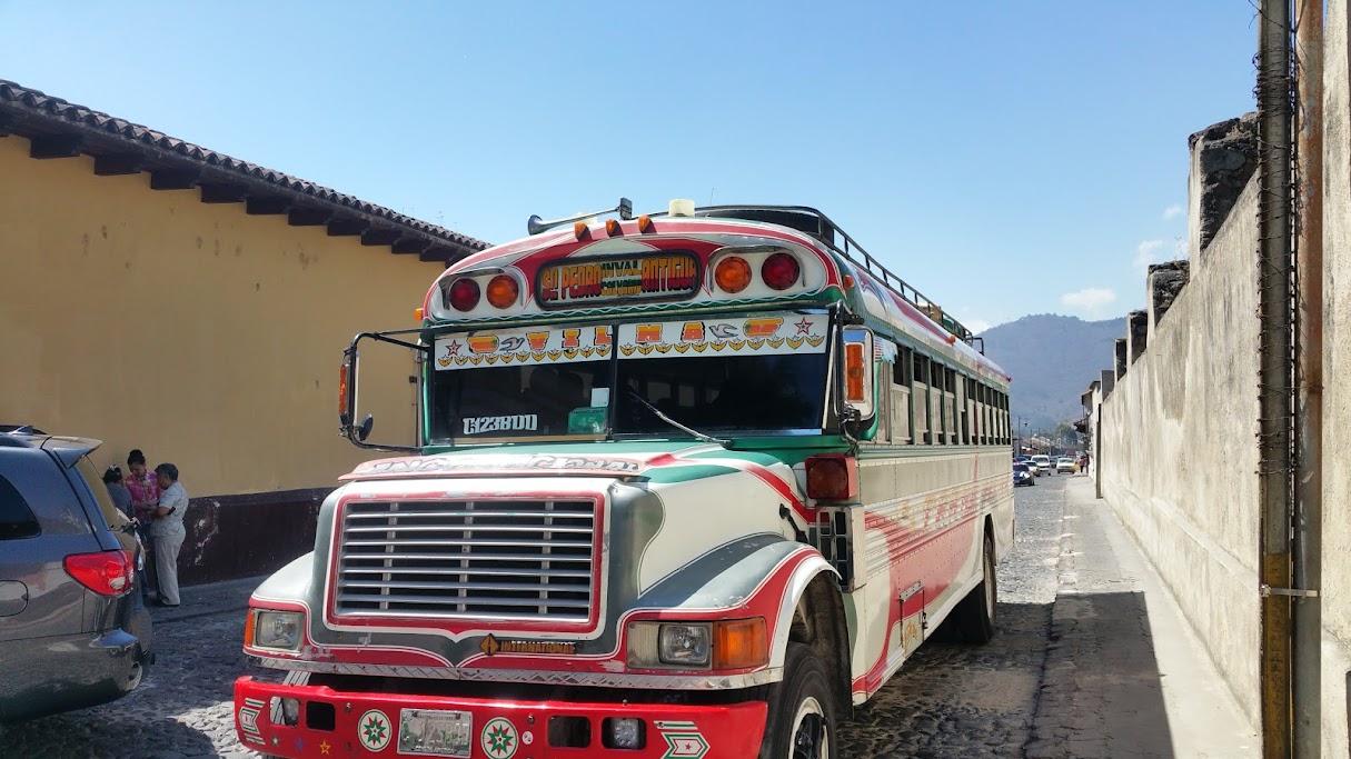 Antigua bus