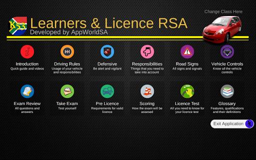 K53 Learners Licence RSA