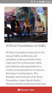 Al-Khair Foundation- screenshot thumbnail