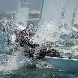 Laser World Championships by John Pounder - Sports & Fitness Watersports ( sailing, mexico, laser, nuevo vallarta, championship, world )