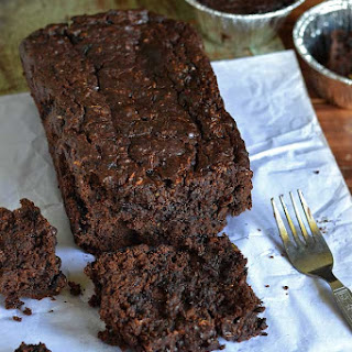 Eggless Double Chocolate Zucchini Bread