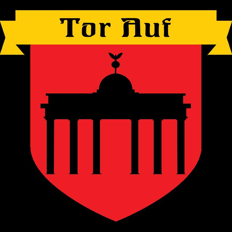 Logo of Button Tor Auf