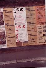 Photo: Pubblicità sui muri di Civita Castellana. Foto Luigi Cimarra. Anni '80 del secolo scorso.