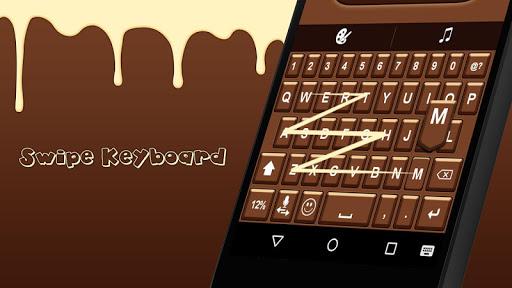 Choco Mega Keyboard Theme