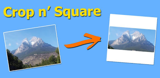 Put your images into a square shape to get full sized pictures into Instagram!