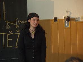 Photo: Školní kolo recitační soutěže - Karolína z 4. A.