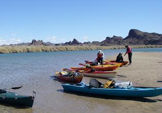 Photo: River rest en route to Norton's Landing.