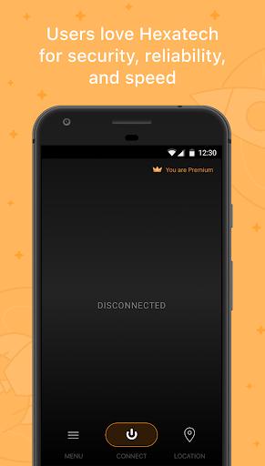 VPN Proxy by Hexatech - Secure VPN & Unlimited VPN 2.1.8 screenshots 2