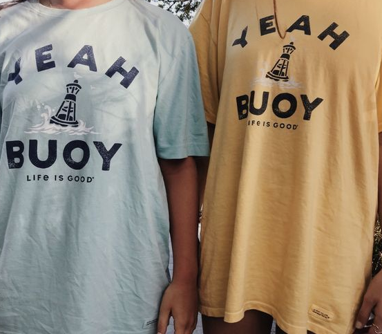 camiseta vsco - yeah buoy life is good
