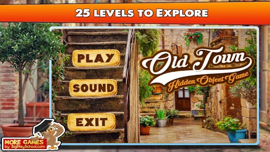 3 - Free Hidden Object Games Free New Fun Old Town - náhled