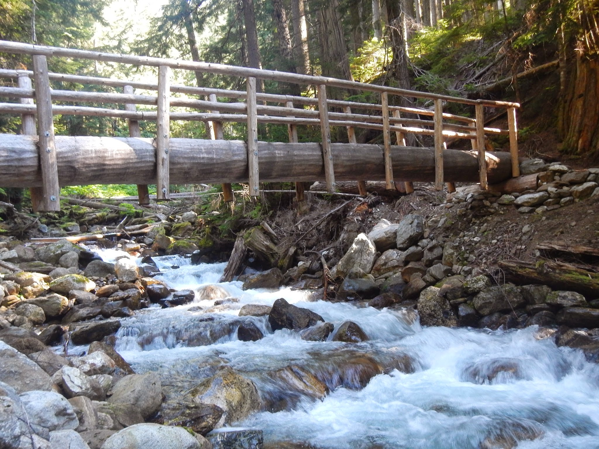 Photo: Another bridge over another stream